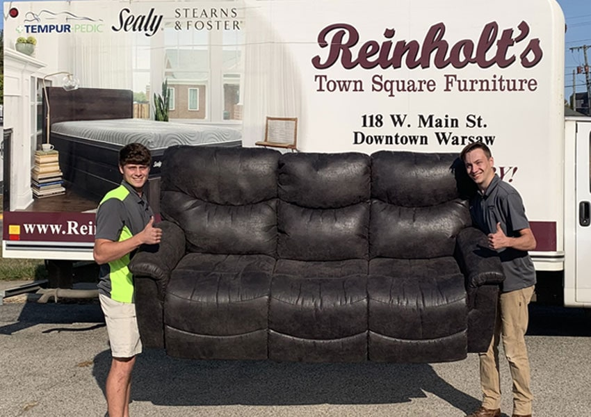 Free Delivery Reinholt Town Square Furniture