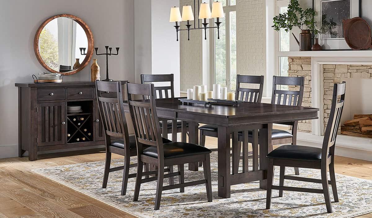 furniture mattresses reinholts furniture warsaw in furniture dining room